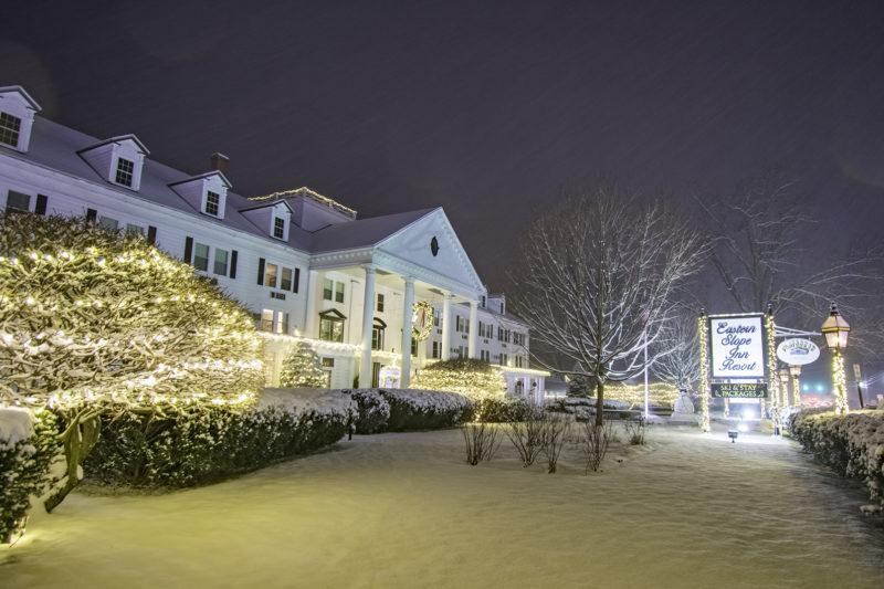 Eastern Slope Inn winter exterior